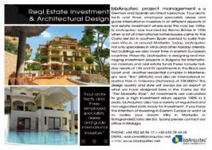 Real Estate Investment and Architectural Design in Spain
